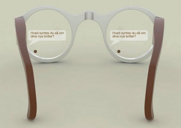 Bijzondere bril laat doven spraak lezen