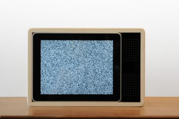 Apple iPad als een retro-TV
