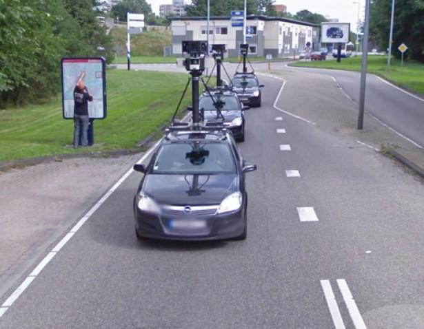 Zelfs het Google Streetview-team verdwaalt wel eens