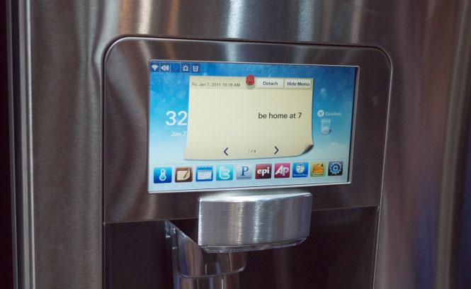 Samsung Presenteert Koelkast Met Internet Freshgadgets Nl