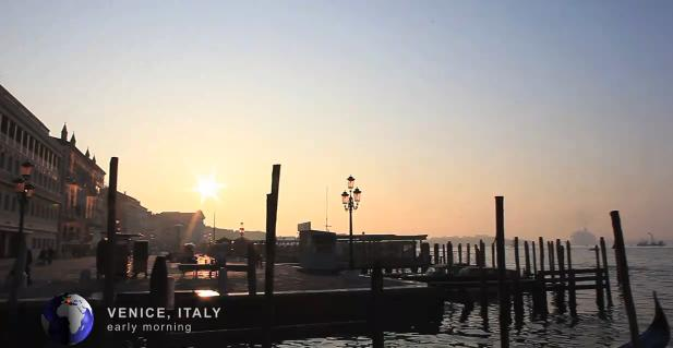 Prachtige video toont wereldsteden in HD