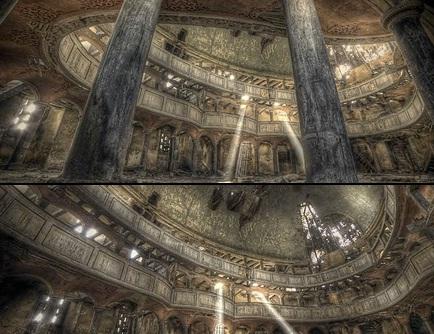 Prachtige HDR-video van een kerk