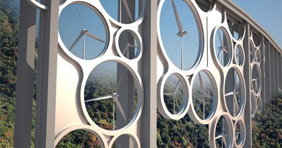 Slim concept laat bruggen energie opwekken