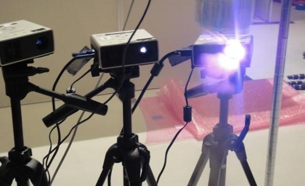 Wetenschappers veranderen mist in 3D-display