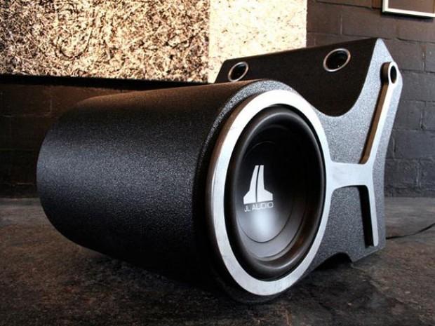 Subwoofer-stoel heeft 1000 Watt vermogen