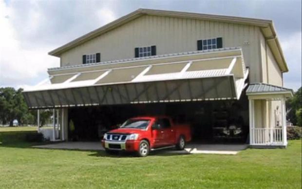 Hangar Home Heeft Verborgen Garage Freshgadgets Nl