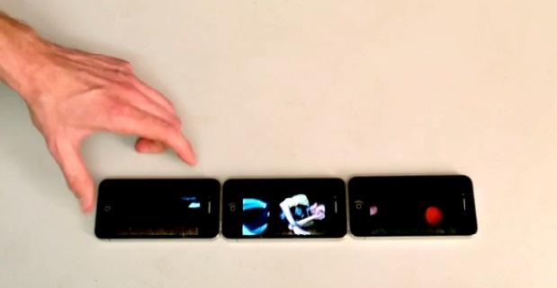 Man zit gevangen in drie iPhones