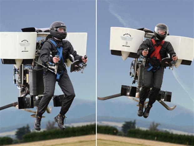 Martin Jetpack stijgt tot over anderhalve kilometer