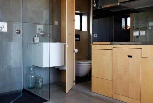 Mini-appartement is van alle gemakken voorzien