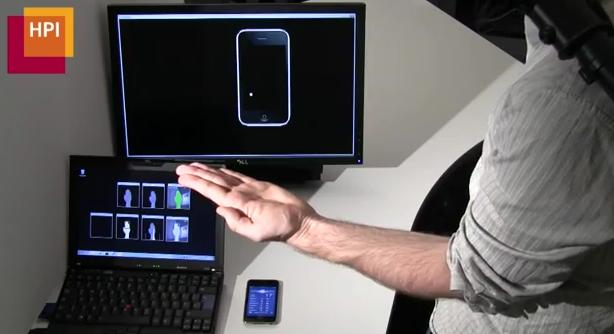 De onzichtbare telefoon