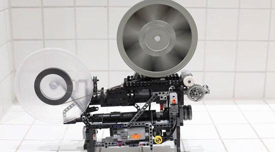 Filmprojector van Lego