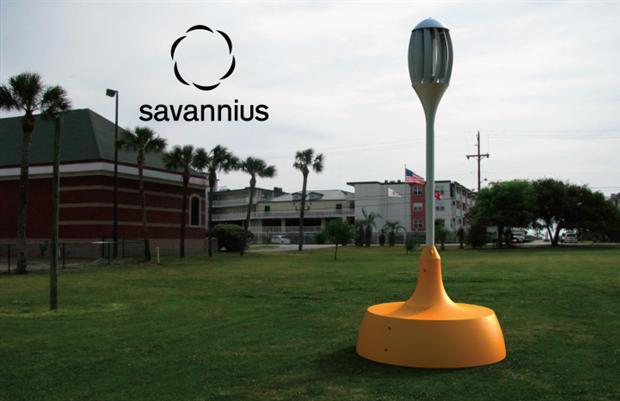 Savannius: kleine windturbine met stopcontacten