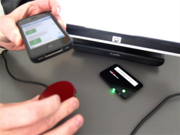 Mobiel betalen met geluidsgolven