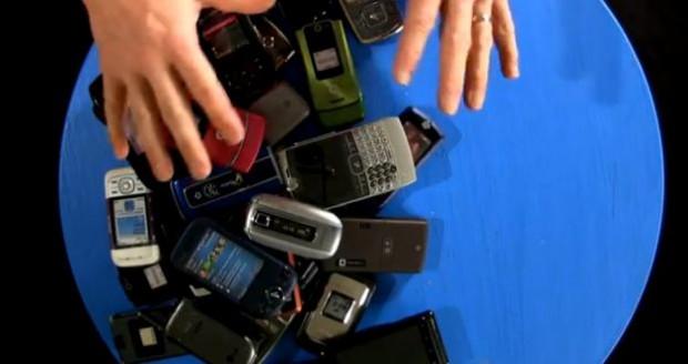 Het ontwerpen van een mobiele telefoon (video)