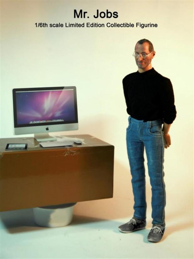 Mini-versie van Steve Jobs