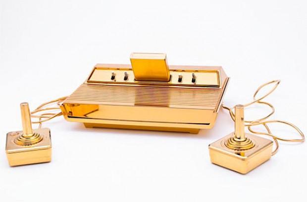 Gouden Atari 2600