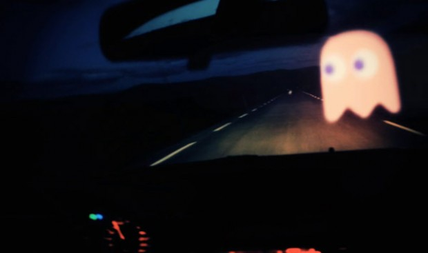 Pac-Man op de snelweg