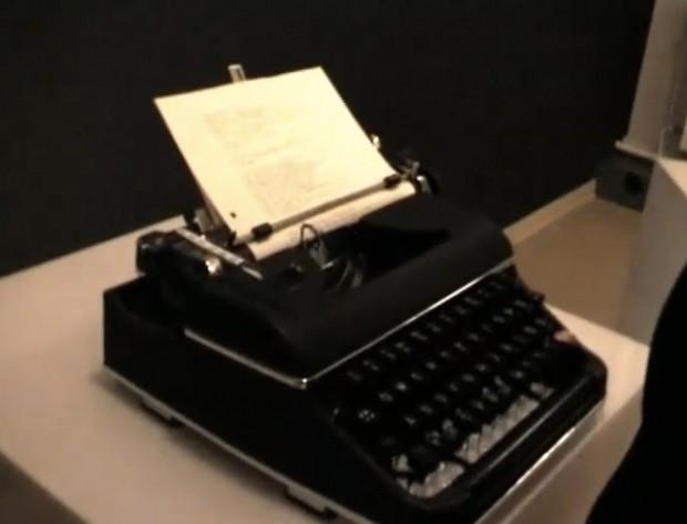 Chatten met een typemachine