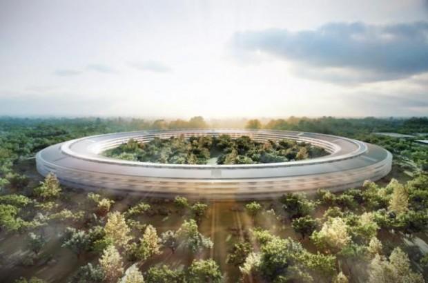 Meer afbeeldingen van Apple's ruimteschip
