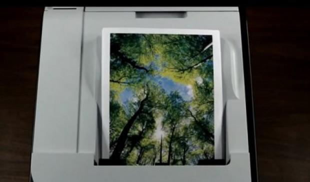 Print een boom