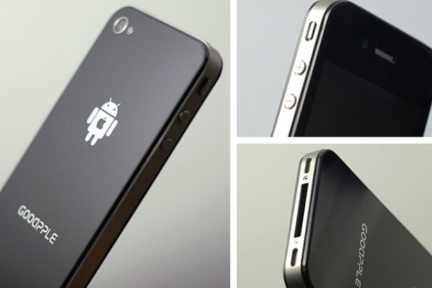 GooApple: iPhone 4 met Android (video)
