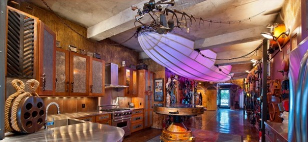 Appartement in Steampunk-stijl