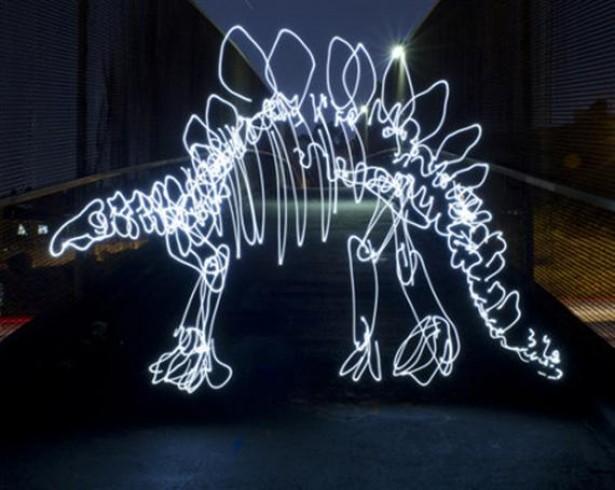 Dinosauriërs van licht