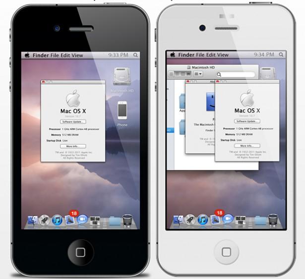 OS X voor de iPhone