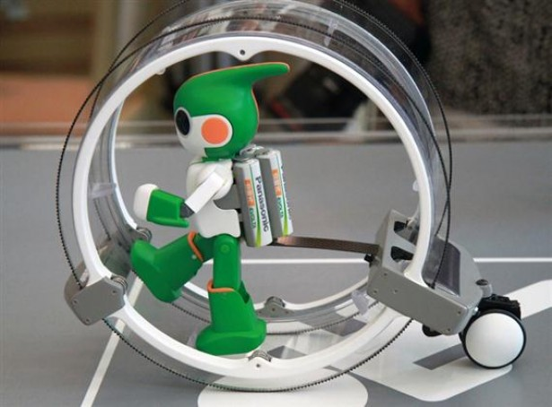 Robot doet mee aan triatlon