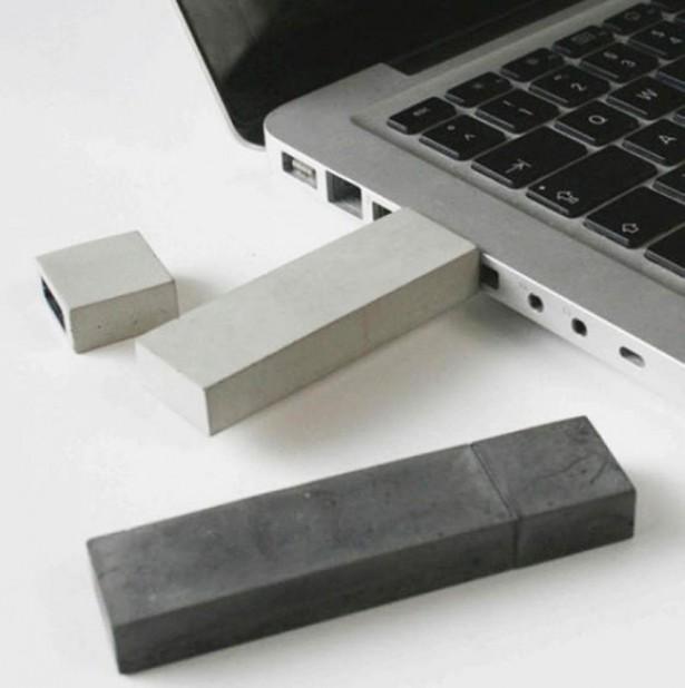 USB-stick van beton