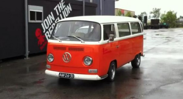 Elektrische VW-bus