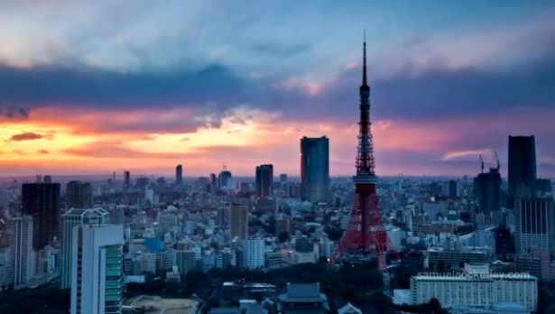 Timelapse: Tokio