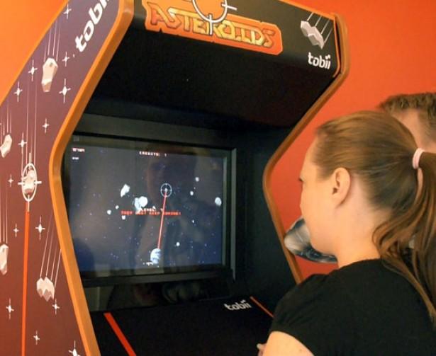 Computerspel wordt bestuurd met de ogen