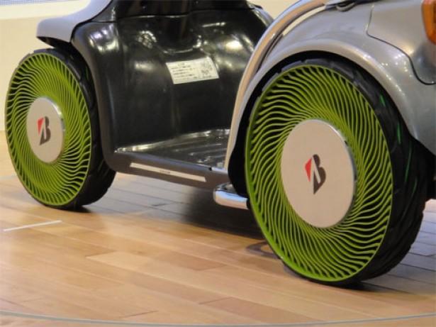 Bridgestone ontwikkelt banden zonder lucht