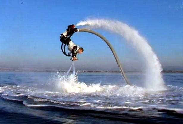 Flyboard: watersport 2.0