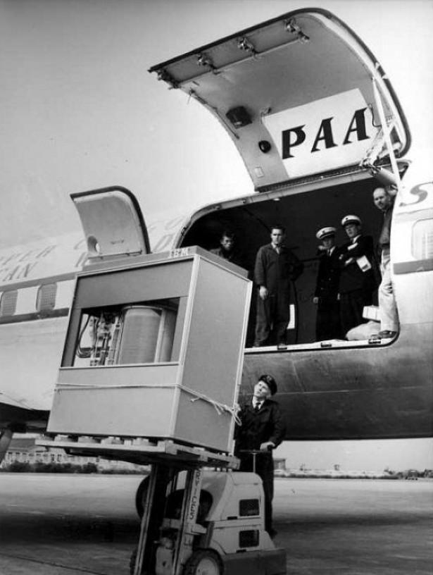 Een 5MB harde schijf in 1956
