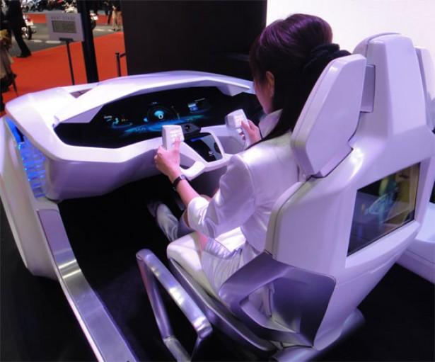 De auto-interface van de toekomst