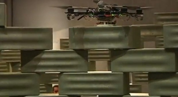 Vliegende robots, de bouwers van de toekomst