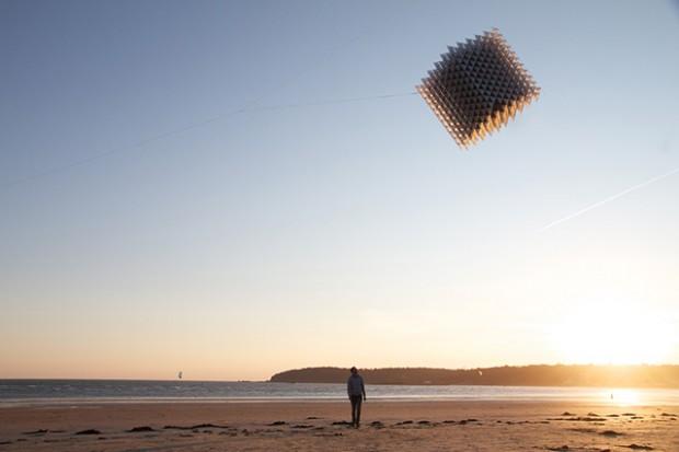 Vlieger uit de 3D-printer