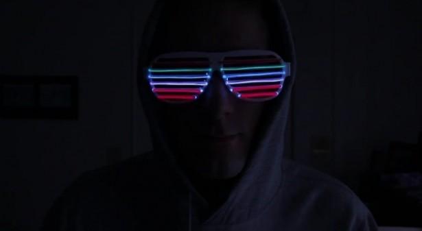 Bril Met Licht : Bril met verlichting reageert op muziek freshgadgets