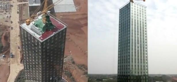 Timelapse: gebouw in 15 dagen