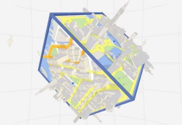 Google Maps wordt doolhof