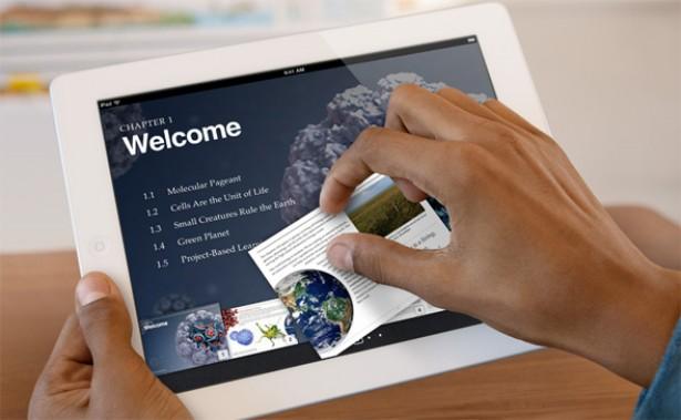 Apple duikt met iBooks 2 in het onderwijs