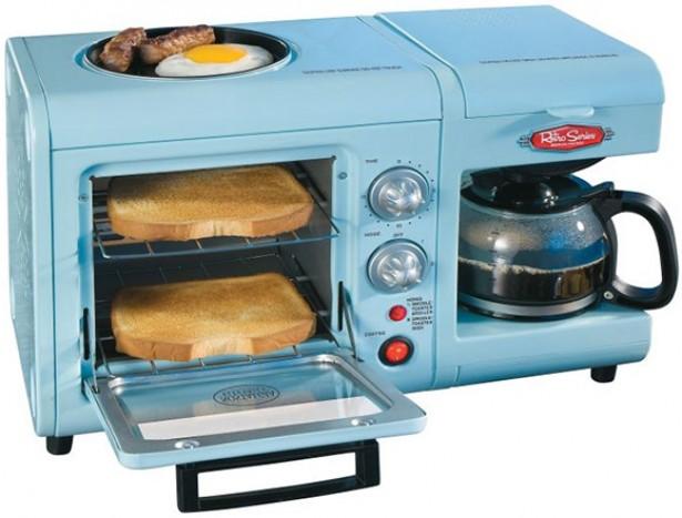 Alles-in-één ontbijtmachine
