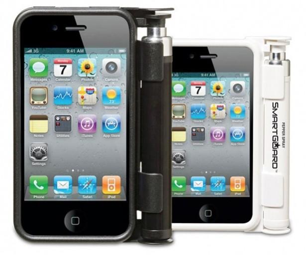 iPhone-case met pepperspray