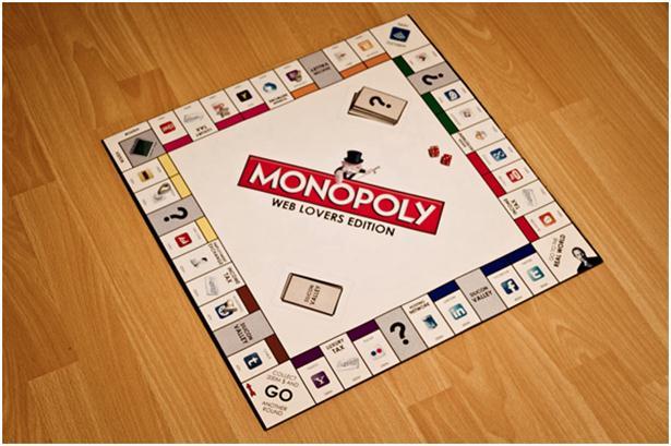 Monopoly voor internet-junks