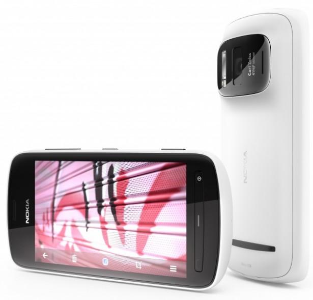 De 41 megapixelcamera van de Nokia 808 Pureview