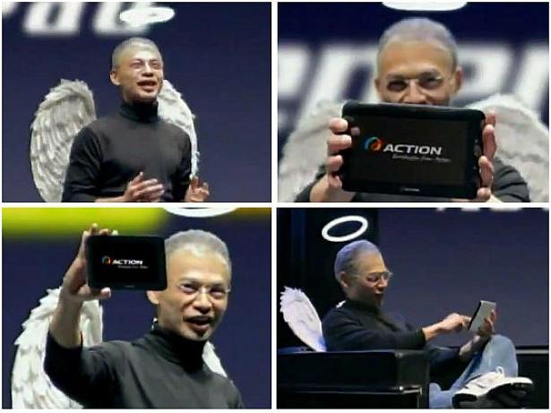 Meest slechte imitator van Steve Jobs ooit?
