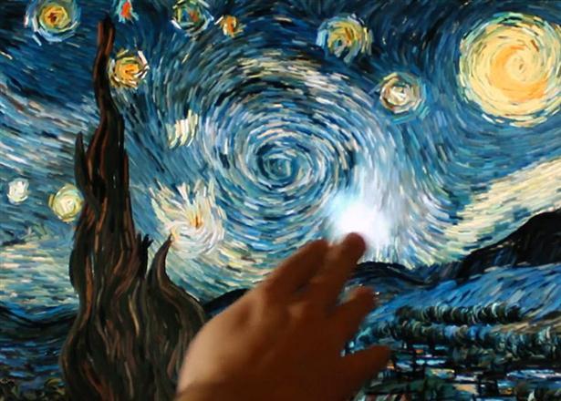 Schilderij van Van Gogh wordt interactief