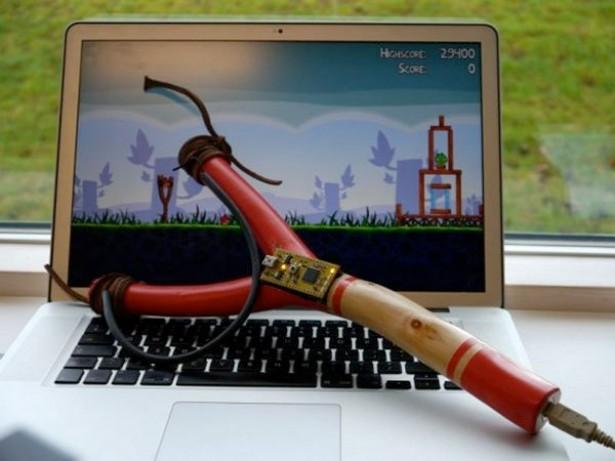 Angry Birds USB-katapult